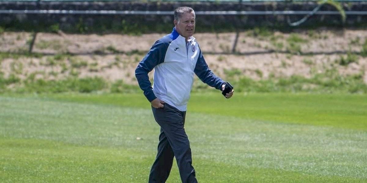 Ricardo Peláez renuncia a Cruz Azul; después se echa para atrás
