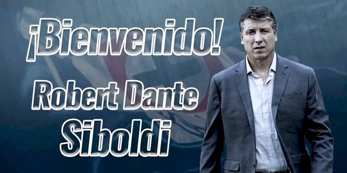 Robert Dante Siboldi es presentado con Cruz Azul