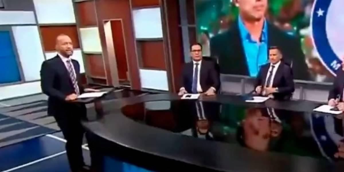 VIDEO: Comentarista de Fox Sports se confunde en vivo, 'regresamos a Futbol Picante'