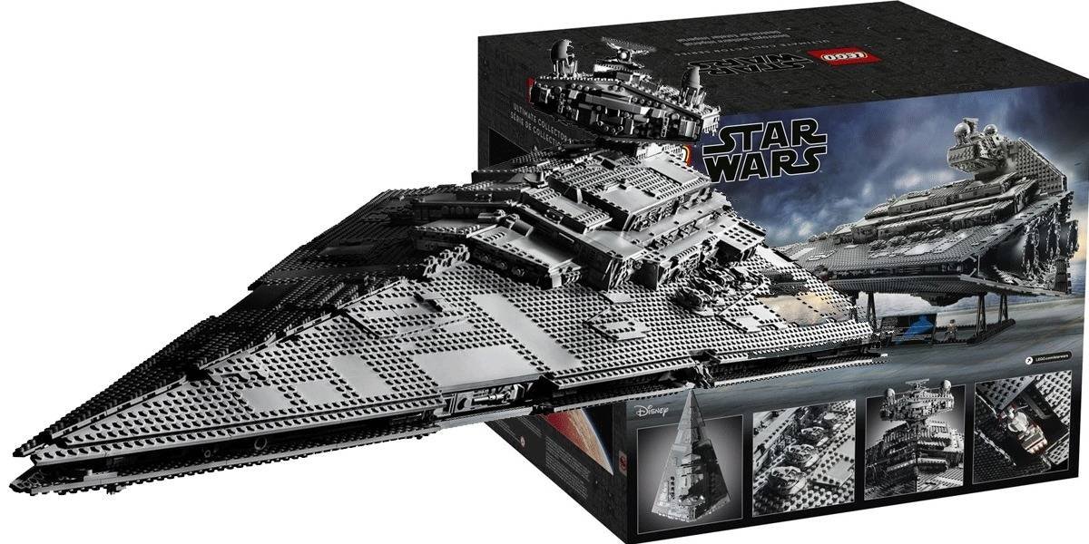 LEGO muestra su Star Destroyer del Episodio IV de Star Wars