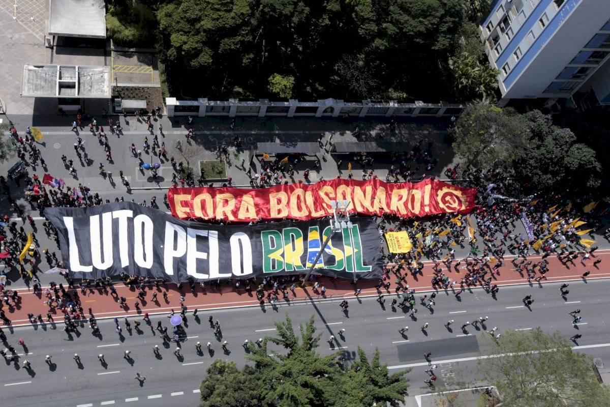 Manifestação amazônia contra bolsonaro 7 de setembro são paulo