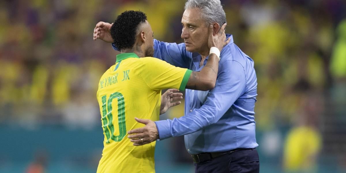 Tite elogia atuação de Neymar em Miami: 'acima da expectativa'