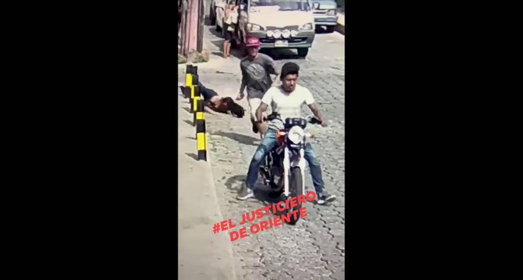 Mujer es asaltada en Chiquimula. Foto: Facebook