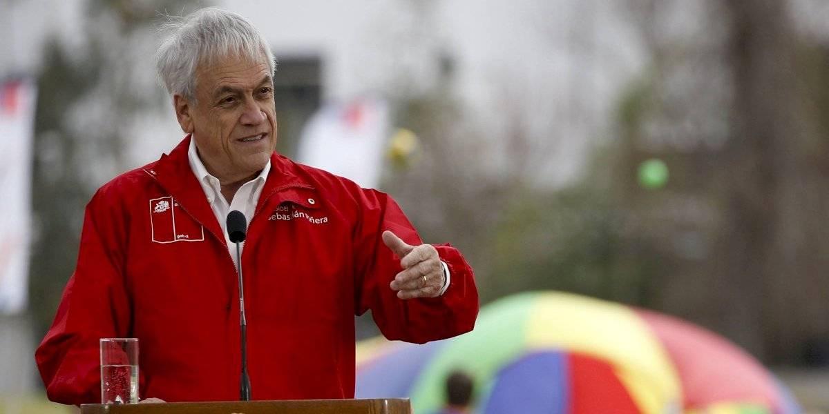 Presidente Piñera presenta proyecto Parque Deportivo Estadio Nacional