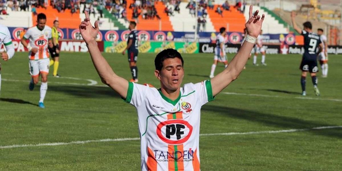 Cobresal dio el primer golpe ante la U en Copa Chile en el regreso de Johnny Herrera a la titularidad