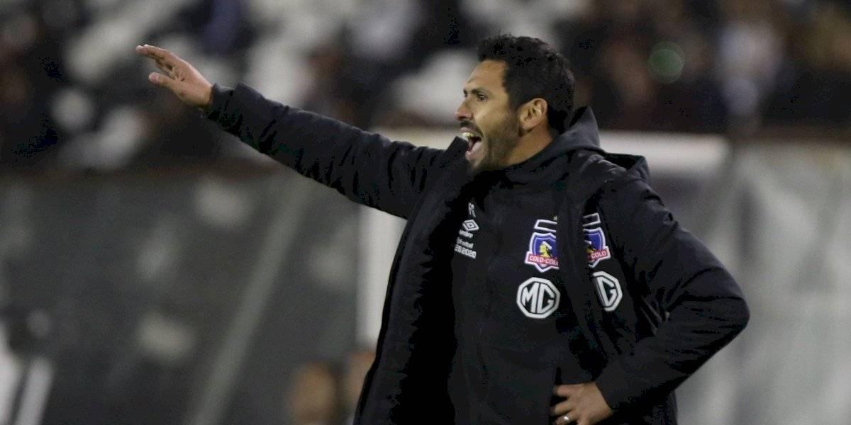 """Ayudante de Mario Salas apoyó a Darío Melo tras error: """"Esa situación fue puntual, más bien un accidente"""""""