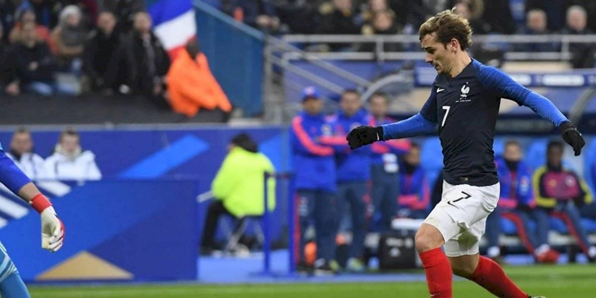 Francia goleó a Albania y se mantiene líder del Grupo H en las clasificatorias a la Eurocopa 2020
