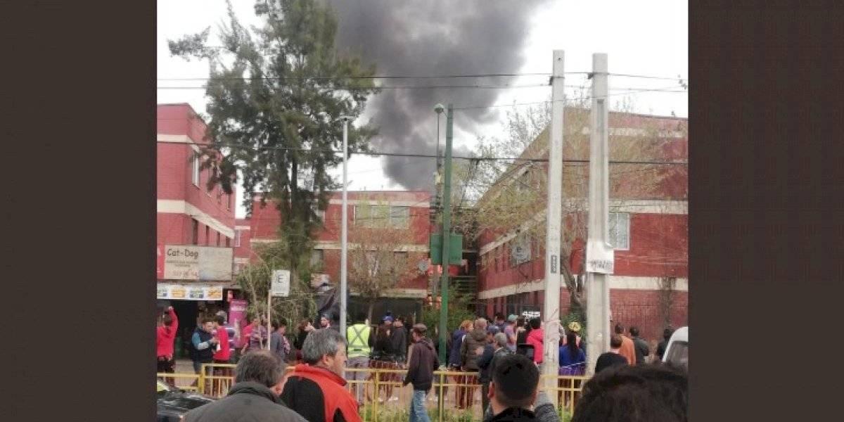 Avioneta cayó sobre departamentos en comuna de El Bosque
