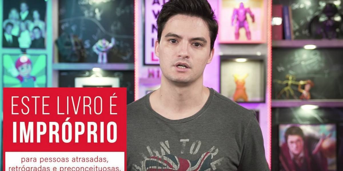 Em resposta a Crivella, Felipe Neto distribui 14 mil livros com temática LGBT de graça neste sábado