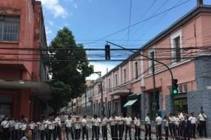 PNC cierra calles cercanas al Congreso.