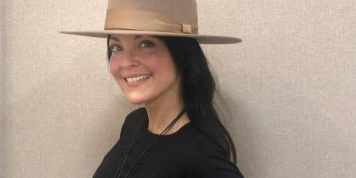 Carolina Gómez calentó las redes con foto ligera de ropa