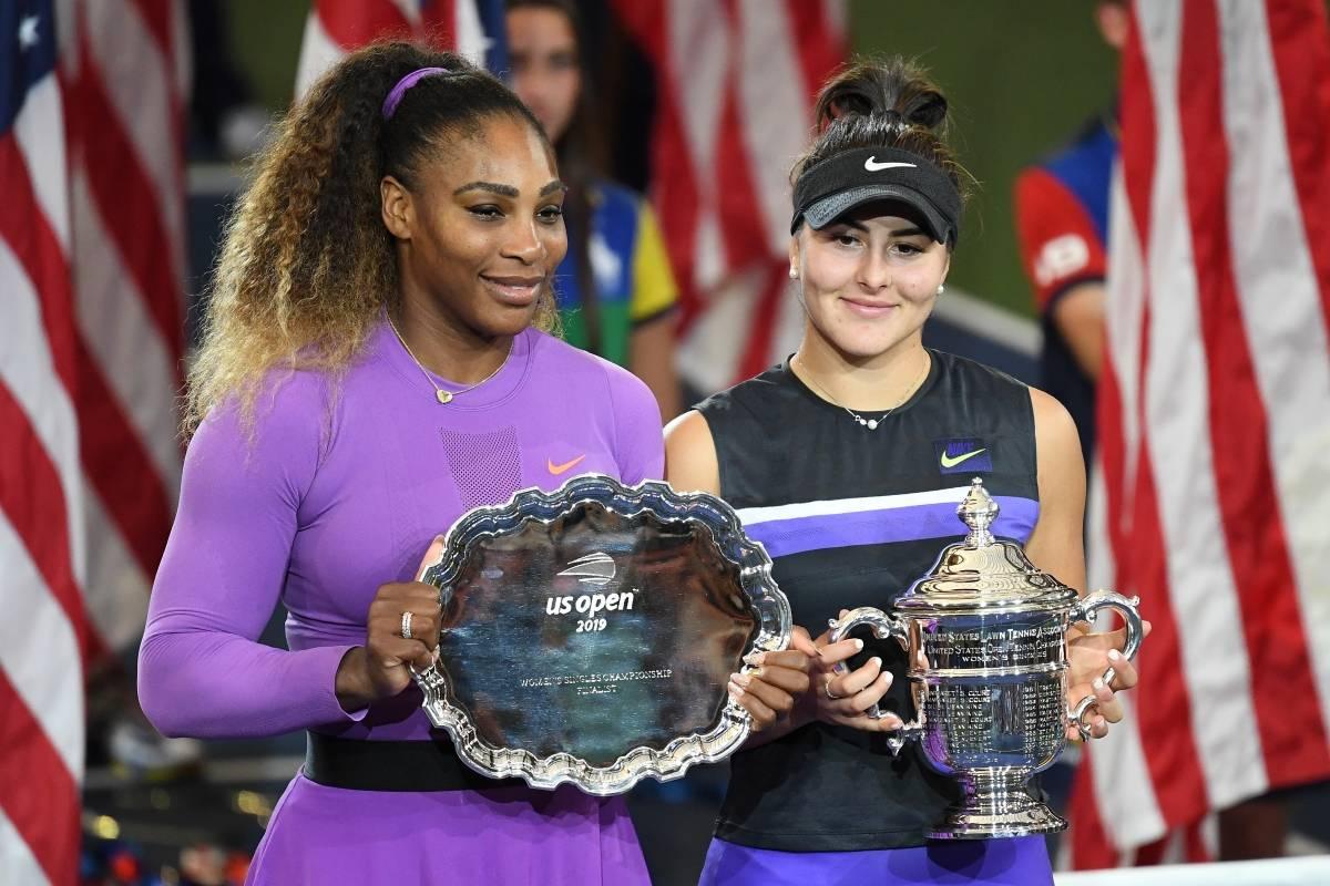 Resultado de imagen para Bianca Andreescu derrota a Serena Williams y se corona campeona del US Open 2019