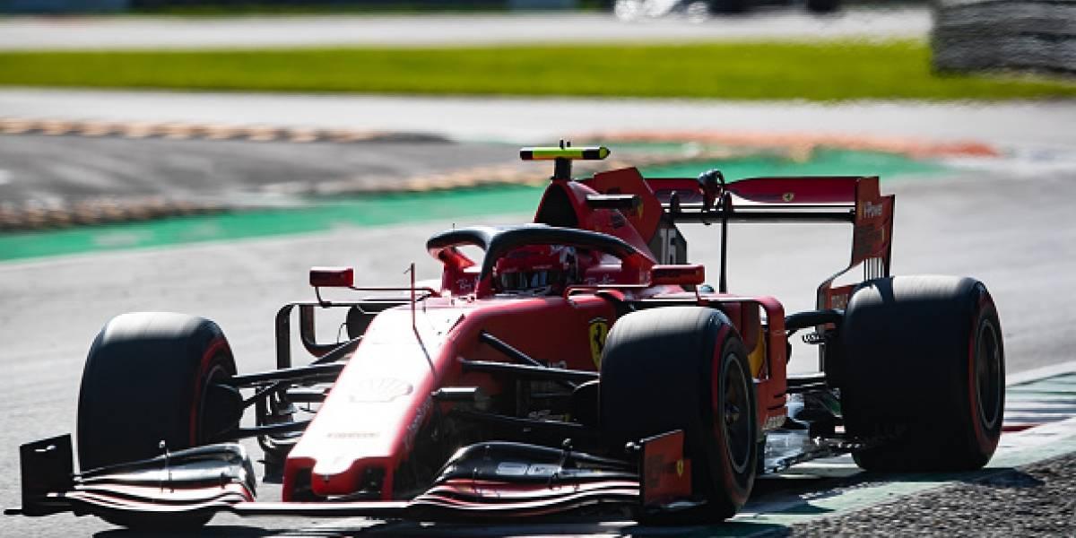 """'Checo' Pérez sufre con el motor y arrancará decimoquinto, Leclerc gana la """"pole"""""""