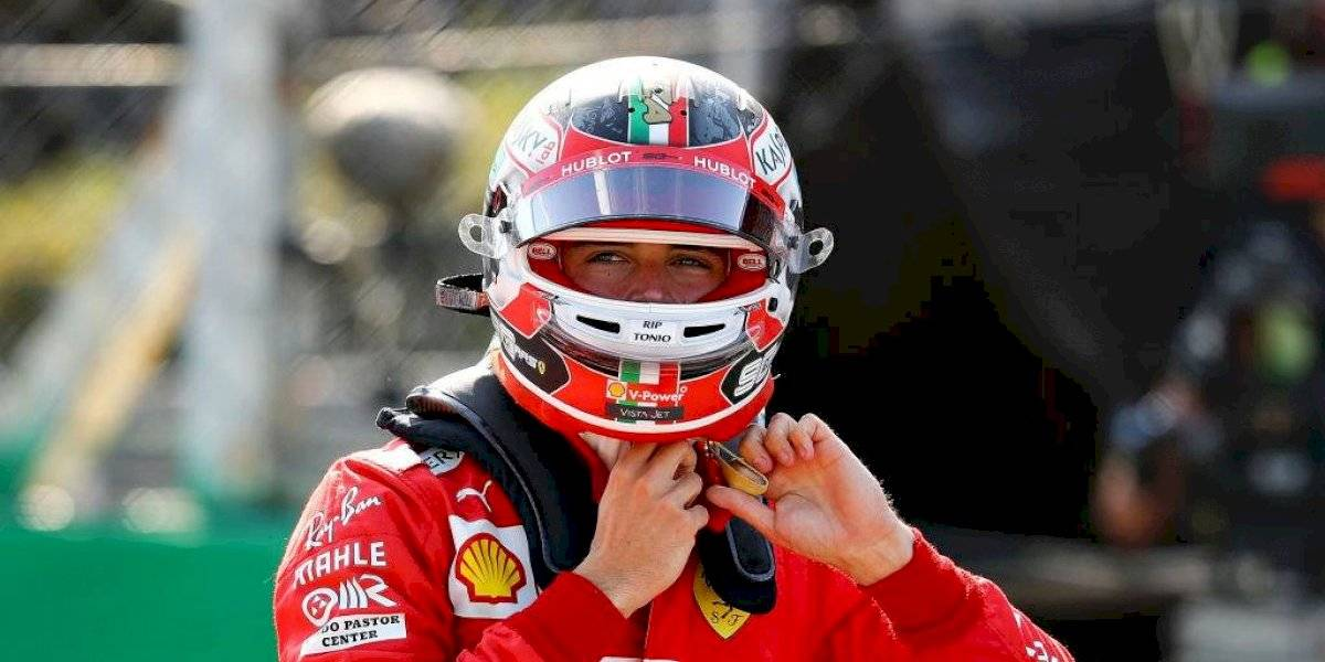 Charles Leclerc obtuvo su segunda pole position consecutiva en la Fórmula 1