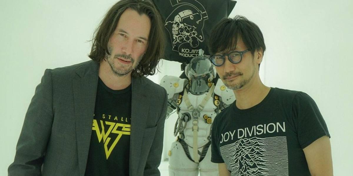 Keanu Reeves visita a Hideo Kojima e internet explota