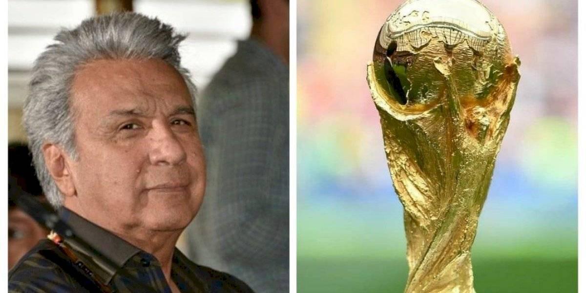 Lenín Moreno plantea que el Mundial del 2030 se juegue en Colombia, Ecuador y Perú