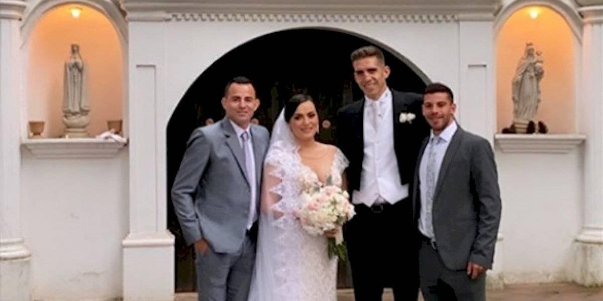 VIDEO. ¿Con quién asistió Marco Pappa a la boda de López Campollo?