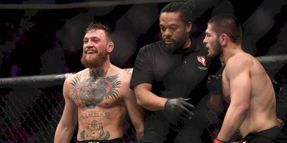 McGregor pide revancha contra Khabib tras triunfo del ruso en el UFC 242