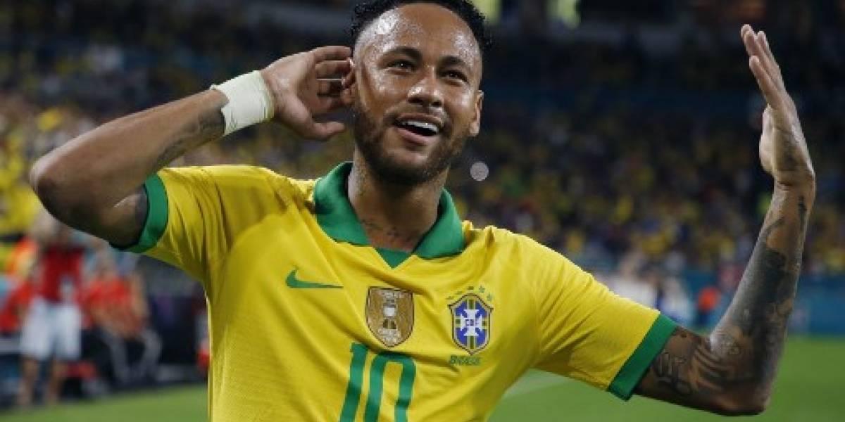 """VIDEO. Estos fueron lo momentos """"íntimos"""" de Neymar en su regreso con Brasil"""