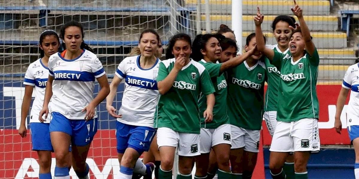 Temuco sorprende a la UC en el torneo femenino y le propina dura derrota en San Carlos de Apoquindo