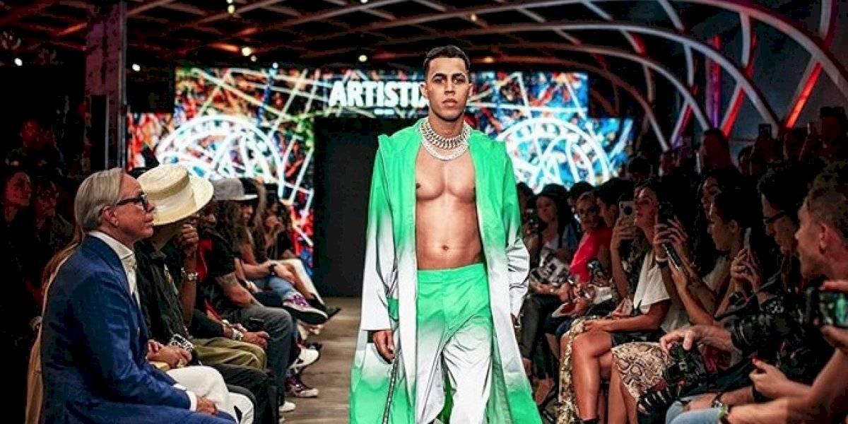 Brytiago debuta en pasarela de New York Fashion Week