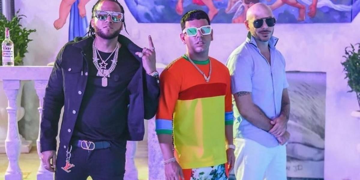 Tito El Bambino se pega a Pitbull y a El Alfa