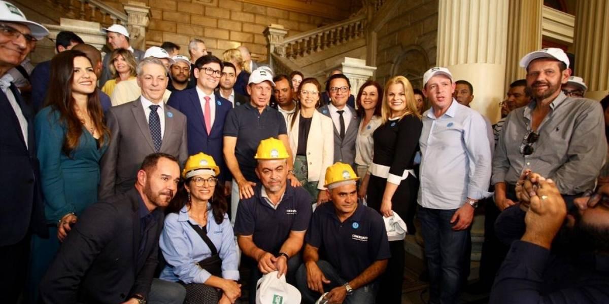 Dia da Independência marca início das obras de restauro do Museu do Ipiranga
