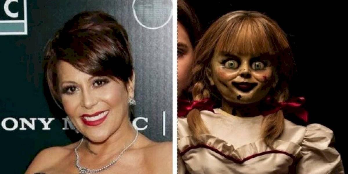 FOTO. Rostro de Alejandra Guzmán es comparado con la muñeca Annabelle por sus recientes retoques