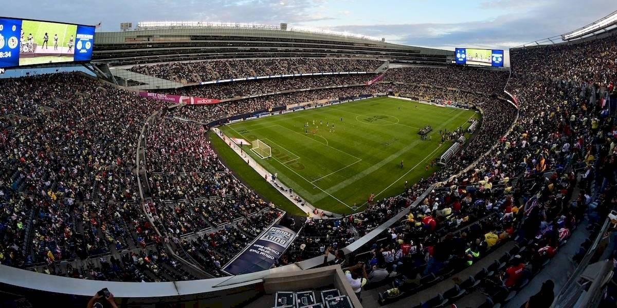 América - Chivas en Estados Unidos igualó asistencia del Kickoff de NFL entre Chicago y Green Bay