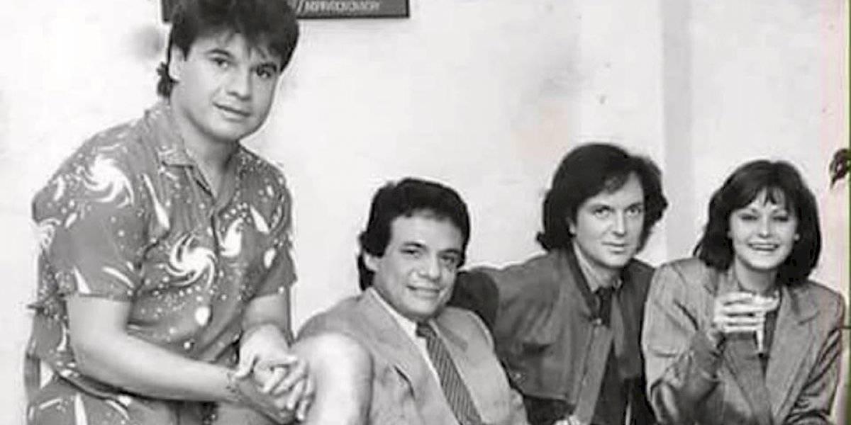 Sólo queda uno: la historia tras la icónica foto de Camilo Sesto, Juan Gabriel, Rocío Dúrcal y José José