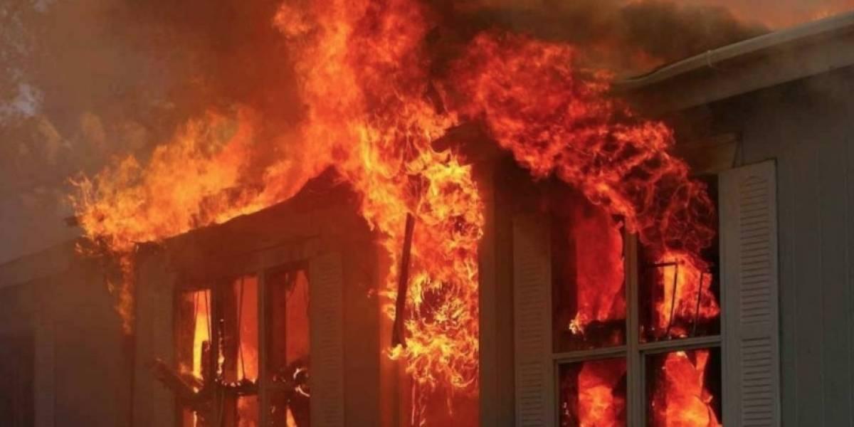 Ya había salido de la casa pero volvió a entrar: abuelo de 71 años muere tras salvar a su pequeña nieta de un incendio