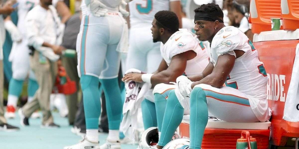 Tras vergonzosa derrota, jugadores de Dolphins quieren salir del equipo