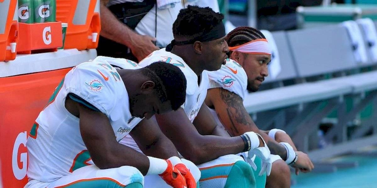 Dolphins sufren humillante derrota en su debut en la temporada NFL