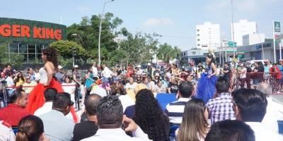 Vía Recreactiva celebra 15 años con pastel y muchas actividades