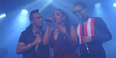 Elvis Martinez, Martha Heredia y Don Miguelo