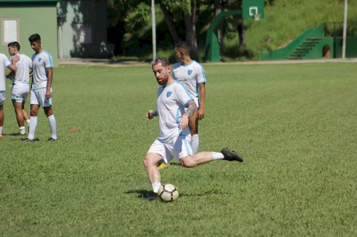 Entrenamiento de Guatemala en la Universidad de Puerto Rico