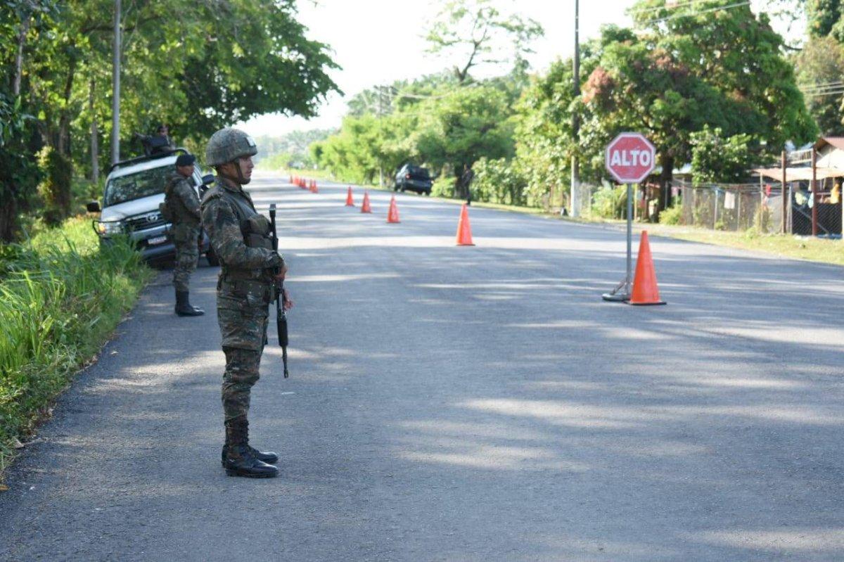 El presidente Jimmy Morales dijo ante la ONU que se decretó un estado de sitio en el oriente y nororiente del país. Foto: Ejército