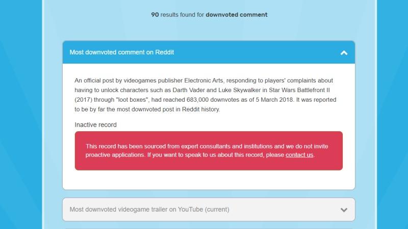 Insólito: Conoce el comentario con más votos negativos en Reddit