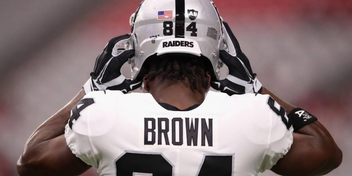 Antonio Brown habría sido asesorado para salir de Oakland