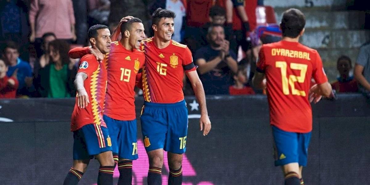 España goleó a Islas Feroe e Italia venció a Finlandia en las eliminatorias para la Eurocopa 2020
