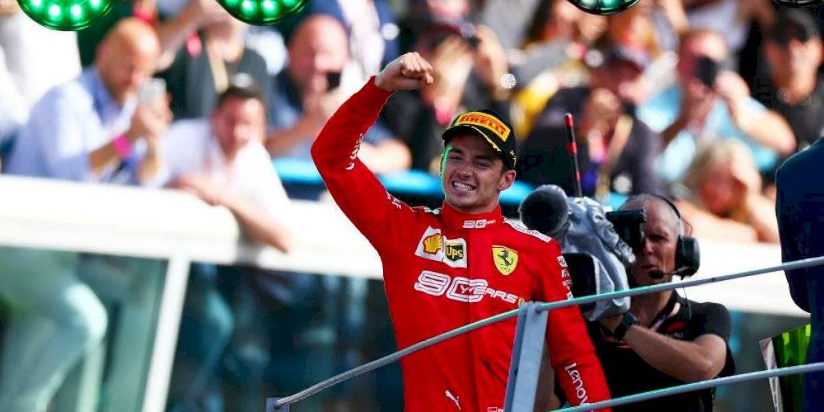 Charles Leclerc se quedó con el GP de Italia y consiguió su segunda victoria consecutiva en la Fórmula 1