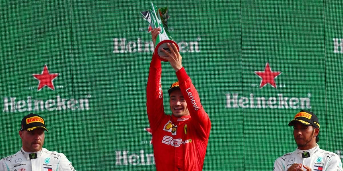 Charles Leclerc se lleva el GP de Italia, 'Checo' queda séptimo