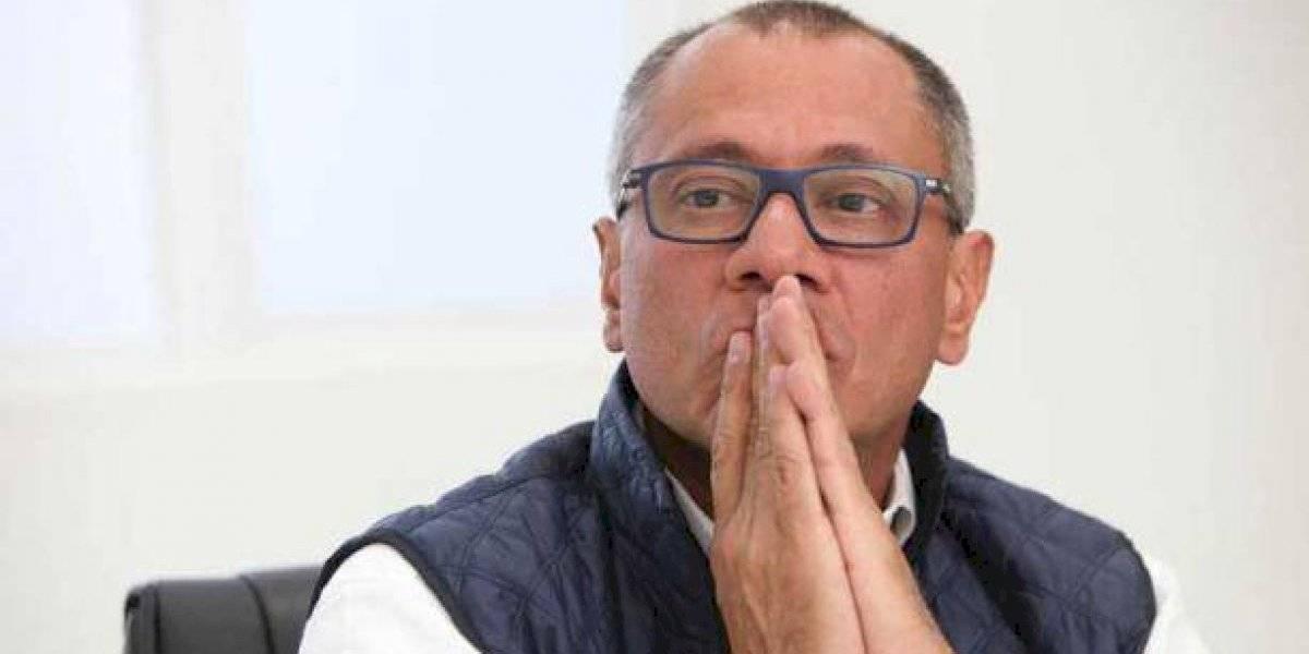 Jorge Glas envía un manifiesto a pocas semanas de cumplir dos años en prisión