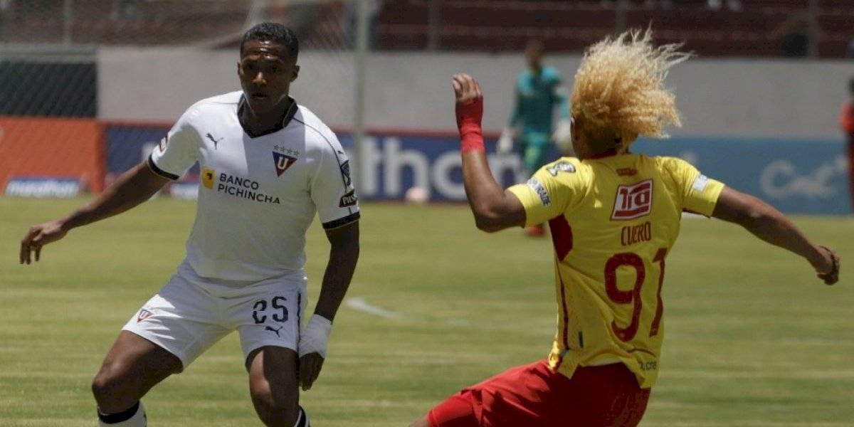 "Liga de Quito empató, en la ""Caldera del Sur"", contra el Aucas"