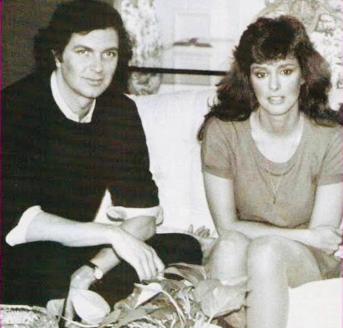 Camilo Sesto apoyó a Lucía Méndez en su carrera Cortesía