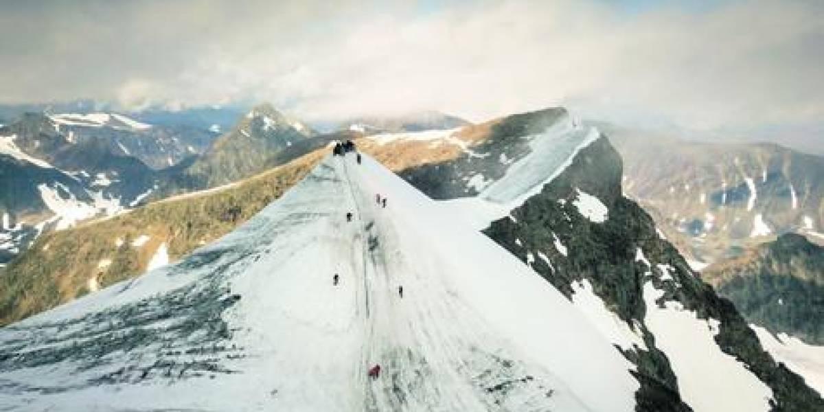 Está desapareciendo la montaña más alta de Suecia