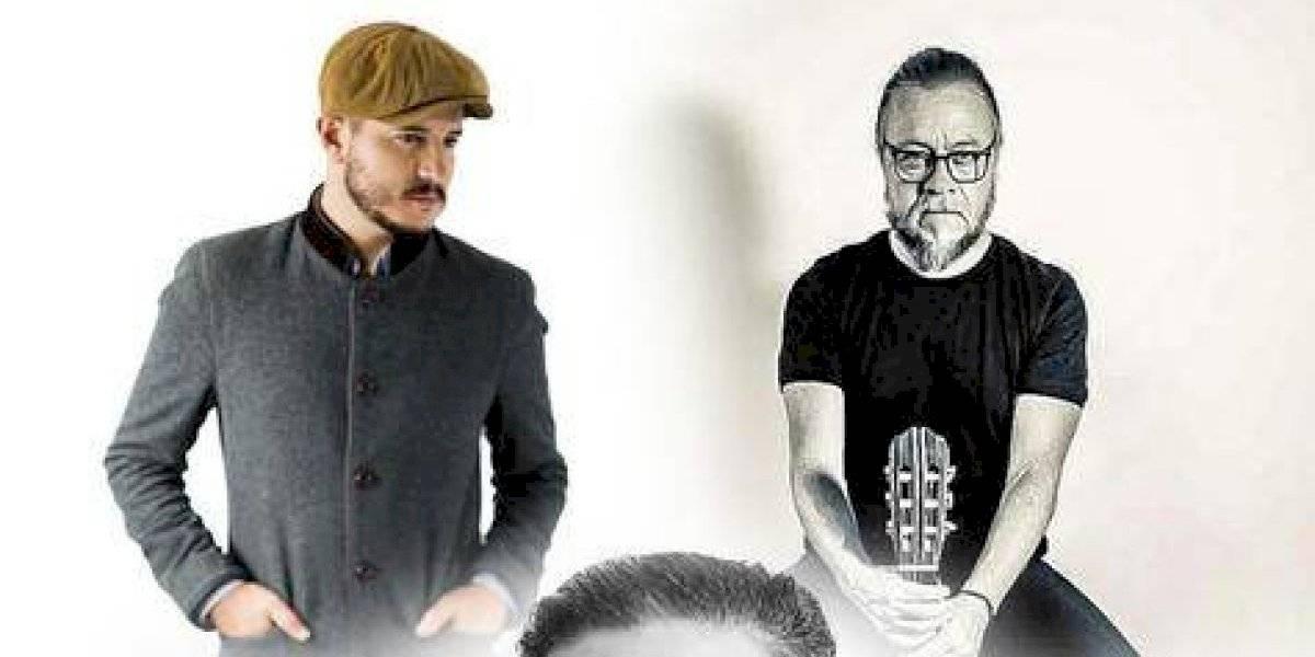 Pavel Núñez, Fernando Osorio y Miguel Inzunza, cantarán el 27 en Lucía 203