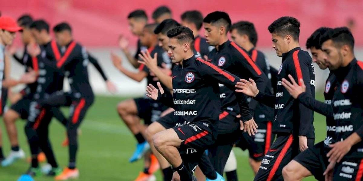 La Roja sub 23 sufre su primera baja: Sebastián Cabrera sufrió una lesión y se perderá el partido ante Brasil