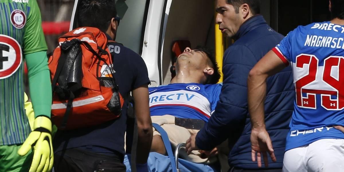 Gary Medel comandó los mensajes de apoyo a Francisco Silva por su fractura