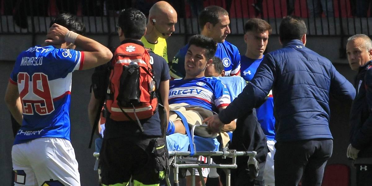 En un accidentado partido la UC cayó ante Unión La Calera en los cuartos de Copa Chile